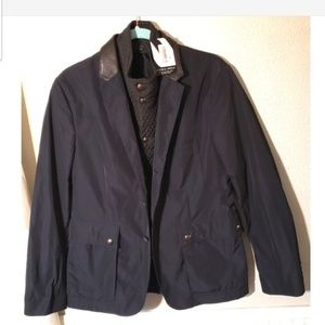 Burberry London women's lined blazer jacket sz 50